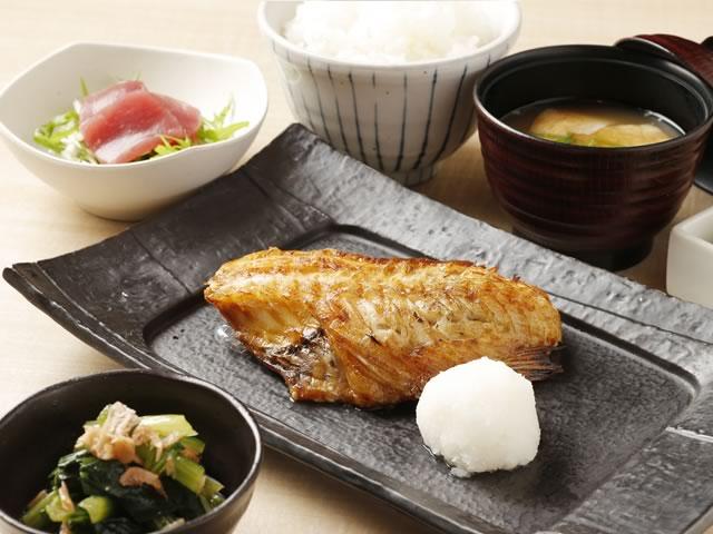 炭火焼魚定食